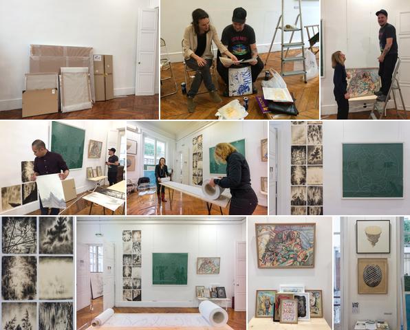 Lhoste in paris salon ddessin 17 galerie lhoste art contemporain - Salon art contemporain paris ...
