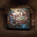 Brandon Opalka - Paint 6 - huile sur toile, 2016, 215 x 185 cm